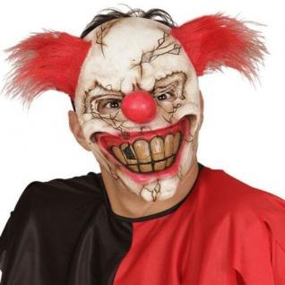 CLOWNMASKE Horror Clown Clownsmaske ES (840)