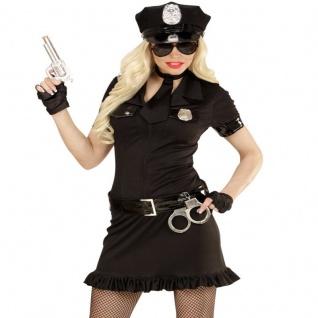 Damen Kostüm POLIZISTIN - POLICE GIRL - Polizei Uniform 34 36 38 40 42 44 46 48
