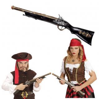 Antikes Piraten Gewehr 56cm Musketier Mittelalter Karneval Kostüm Zubehör #655