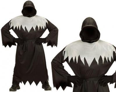 Phantom Dunkle Gestalt Tod GHUL Geist Kinder Kostüm Gr. 128 Halloween +0166