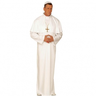 DELUXE PAPST KOSTÜM Gr. 52/54 (L) Karneval Kirche Priester Fasching #4323