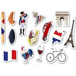 42tlg XXL Konfetti FRANKREICH Länder Streu Deko Dekoration Vive la France Tisch