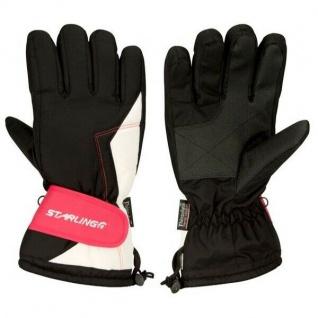Handschuhe Snowboard Ski-Handschuhe Winterhandschuhe Gr. 10 XL schwarz (408zww)