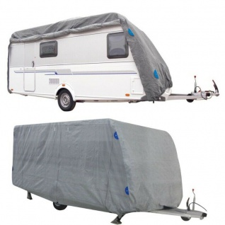 Wohnwagen Schutzhülle 7, 30 x 2, 50 x2, 20m Caravan Garage Schutzhaube Wetterschutz