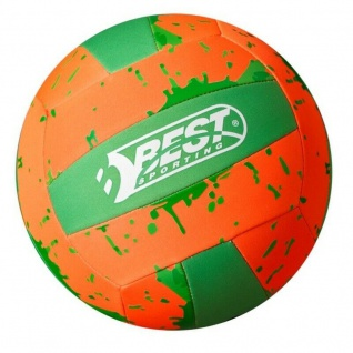 Beachball Neopren Ball Beach VOLLEYBALL Ø 21cm Strandball Wasserball orange #213