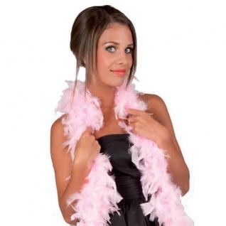 FEDERBOA, rosa ca. 180 cm PREISHIT Show Mottoparty Damen Federschal