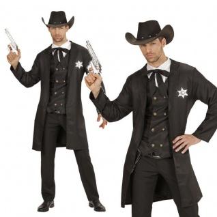 SHERIFF Cowboy Wilder Westen Herren Kostüm 54 (XL) Karneval Fasching #19304