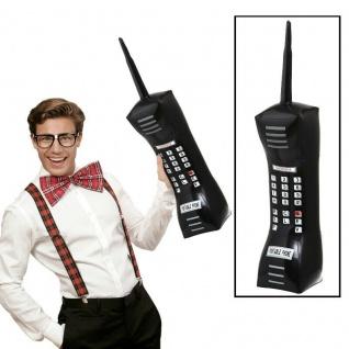 XXL HANDY AUFBLASBAR 90er Jahre Party Deko Riesenhandy Mobiles Telefon #1454