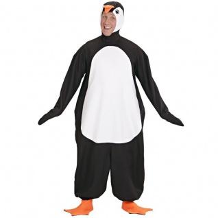 PINGUIN PLÜSCH KOSTÜM S 165cm Unisex Karneval Fasching Tiere Zoo Märchen
