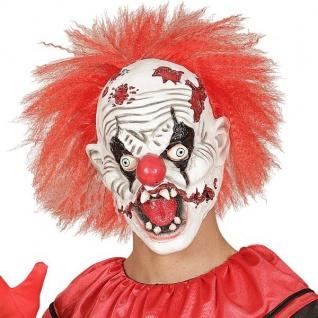 CLOWNMASKE Horror Clown Clownsmaske ES Psycho (1018)