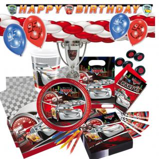 CARS 2 silver Kindergeburtstag Party Mottoparty Kinderparty Kinder Geburtstag