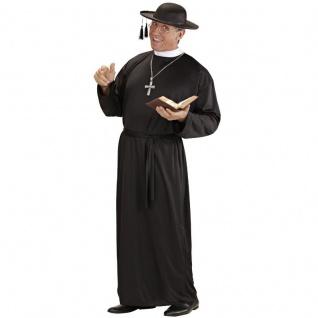 PREISHIT Pfarrer Priester Pater Herren Kostüm Gr. 54 (XL) - Karneval #3105