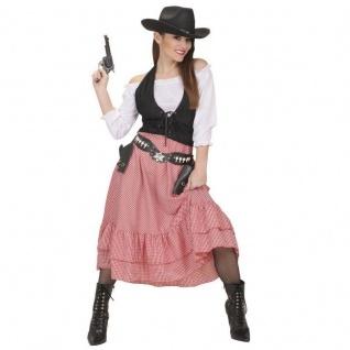 COW GIRL Western Lady Damen Kostüm Saloon Girld Wilder Westen Karneval Fasching