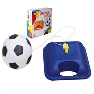 Fussball Trainings Set 22cm Reflex Fußball Kick Off Spiel Ball Kinder Ballspiel