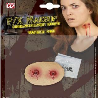 Make up Spezialeffekt - VAMPIR BISS - Dracula Schminke für Damen Herren Kostüm