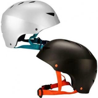 Skaterhelm Skateboard Skater-/Inline-/Rollschuh Helm Schwarz oder Silber S M L