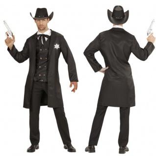 Sheriff Cowboy Western Herren Kostüm Wild West Fasching Karneval