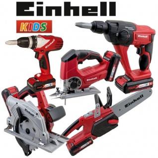 Kinder Werkzeug EINHELL - Handkreissäge Bohrhammer Akku Bohrschrauber Stichsäge