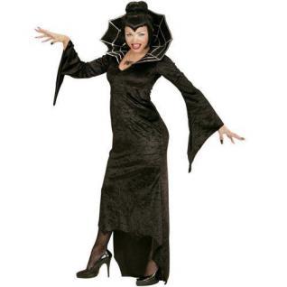 SPIDERELLA SPIDER LADY Damen Kostüm Schwarze Witwe Gr. S 34/36 Hexe Gothic
