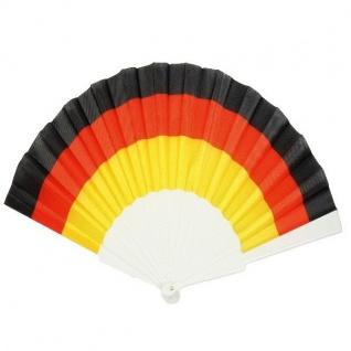 Fächer Flagge Schwarz Rot Gold Deutschland Fan Artikel Dekoration WM+EM #90999
