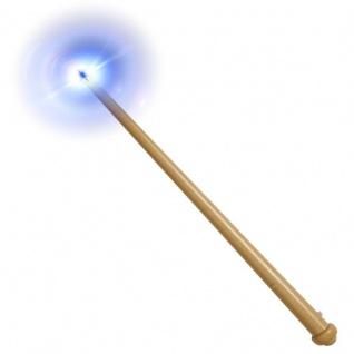 Zauberstab 36cm mit Licht und Soundeffekt Zauberer Magier Kostüm Zubehör #9805