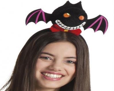 FLEDERMAUS VAMPIR TIARA Batty Halloween Kostüm Party Zubehör 01002