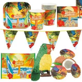 STRAND BEACH PARTY Hawaii - Alles für die Mottoparty - Geburtstag Sommer
