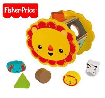 Fisher Price Holz Steckspiel für Kinder ab 1 Jahr Spielzeug Puzzle Holz #1224