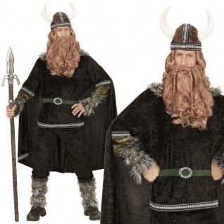 Wikinger Krieger Herren Kostüm Gr. M 50 - NEU Ragnar Barbaren Mittelalter #0598