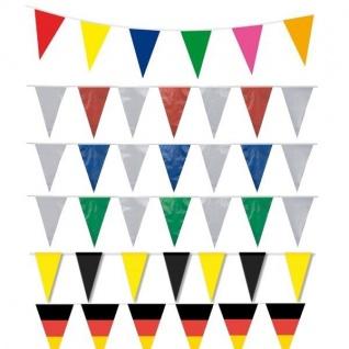 10 m Wimpelkette Dekoration Party Event Geburtstag Fahnenkette Wimpelgirlande