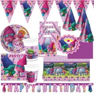 TROLLS Dreamworks - Alles zum Kindergeburtstag - Geburtstag Motto Party Deko