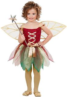 Waldfee Lissy Kostüm Gr. 98/104 Kleid m. Flügeln Fee Elfe Schmetterling Mädchen