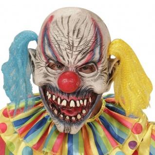 CLOWNMASKE Horror Clown Clownsmaske ES Psycho (0404)