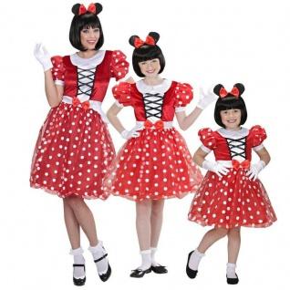Micky Mickey Minny Minnie Maus Partner Kostüm Baby Kinder Mädchen Damen Disnay