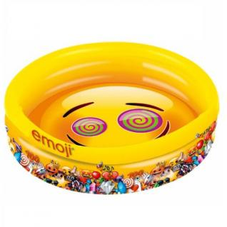 3-Ring Pool - emoji - Kinder Planschbecken ca. 140 x 26cm Happy people