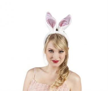 HASENOHREN BUNNY Häschen Ohren Hasen Kostüm