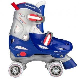 Kinder Rollschuhe Größen verstellbar 27 - 37 Blau Junior Jungen Skates
