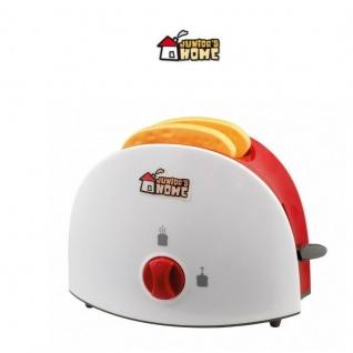 Toaster mit Zeitmesser Kinderküche Spielküche Zubehör Kinder Spielzeug