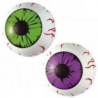 Zwei aufblasbare Augen - Halloween Grusel Party Deko - XXL Auge -#2386