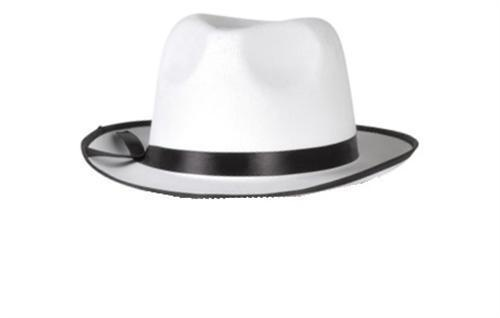 Hut Al Capone WEIß Gangster Mafia Mafiahut 20er Jahre Fasching Kostüm #4372