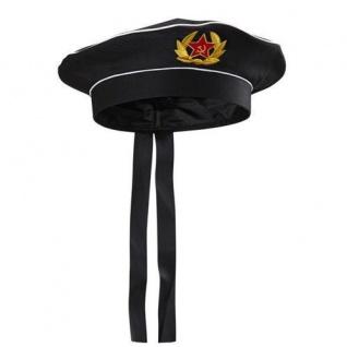 MÜTZE MARINE 59 cm Karneval Fasching Hut Uniform Matrose Militär 02426