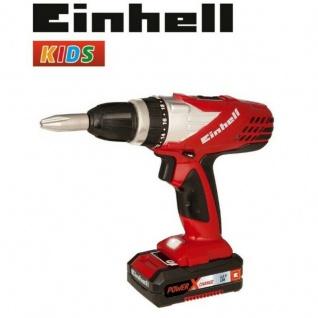 EINHELL Kinder Werkzeug Akku Bohrschrauber Akkuschrauber Spielwerkzeug 41760