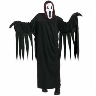 KINDER GEISTERKOSTÜM 134/140 f. 8 - 10 J Karneval Geister Scream Kostüm 3812