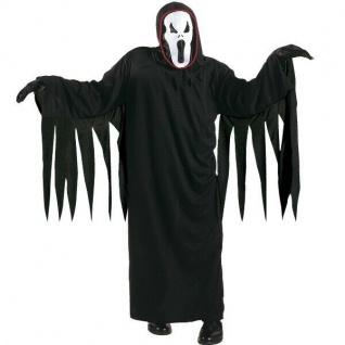 Kinder Kostüm SCHREIENDER GEIST ?SCREAM Gr. 158 Halloween Ghost Horror #8118