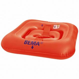BEMA® Baby Schwimmsitz Orange - Kinder Lern Hilfe Kleinkind Schwimmring TÜV/GS