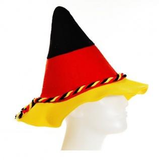 Seppelhut Bayernhut mit Kordel Deutschland Fan Artikel Dekoration WM+EM #15596