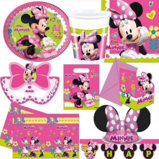 MINNIE MAUS Party Deko - Alles zum Kinder Geburtstag - Motto Party Disney Mickey