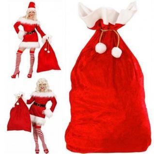NIKOLAUS SAMT SACK Weihnachtsmann Geschenkesack Gabensack Weihnachten 1561