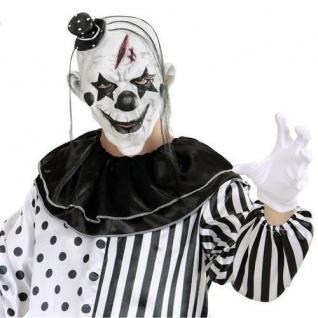 KILLER CLOWN MASKE Horror Psycho Halloween Latexmaske Halloweenmaske #848