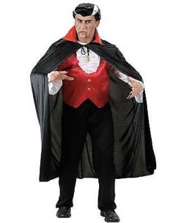 VAMPIR UMHANG Graf Dracula Deluxe Kostüm Halloween 135 cm (4494S)